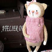 Куклы и игрушки ручной работы. Ярмарка Мастеров - ручная работа Котёнок. Handmade.