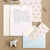 Открытки ручной работы. Ярмарка Мастеров - ручная работа Бумага для писем и конверты. Handmade.