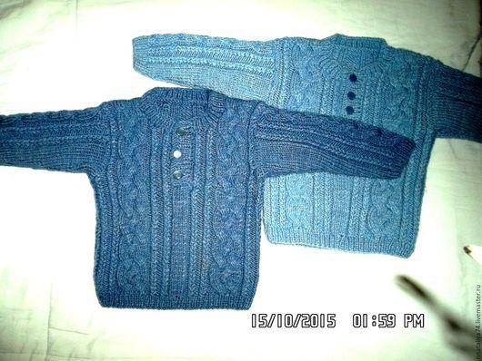 Одежда для мальчиков, ручной работы. Ярмарка Мастеров - ручная работа. Купить детский джемпер. Handmade. Серый, для мальчика