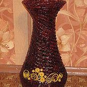 Для дома и интерьера ручной работы. Ярмарка Мастеров - ручная работа напольная ваза для сухоцветов. Handmade.
