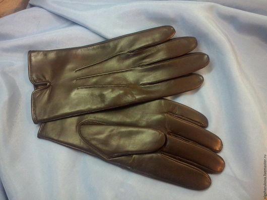 Варежки, митенки, перчатки ручной работы. Ярмарка Мастеров - ручная работа. Купить перчатки мужские классические. Handmade. Черный