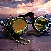 Субкультуры handmade. Livemaster - original item GOGGLES-STEAMPUNK INFORMAL GLASSES
