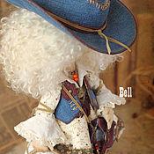 Куклы и игрушки ручной работы. Ярмарка Мастеров - ручная работа Кукла текстильная. Большеногая девочка. Bell. Handmade.