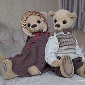 Куклы и игрушки ручной работы. Ярмарка Мастеров - ручная работа Эшли и Гарольд. Handmade.