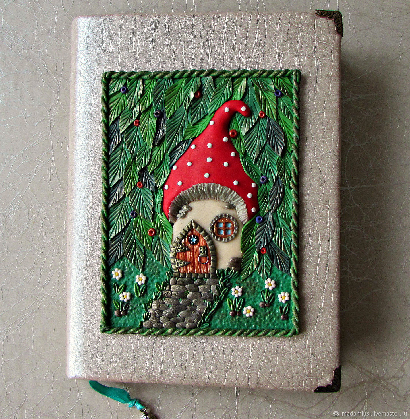 Notepad Magic forest handmade. A5. Notepad from scratch, Notebooks, Shuya,  Фото №1