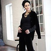 Одежда ручной работы. Ярмарка Мастеров - ручная работа Рубашка Velvet Double Sleeves. Handmade.