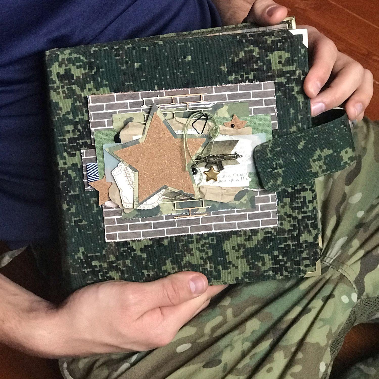 Армейский альбом/дембельский альбом, Именные сувениры, Долгопрудный,  Фото №1