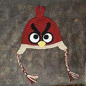 Аксессуары ручной работы. Ярмарка Мастеров - ручная работа Шапочка Angry birds. Handmade.