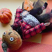 Куклы и игрушки ручной работы. Ярмарка Мастеров - ручная работа Тыква на хеллоуин. Handmade.