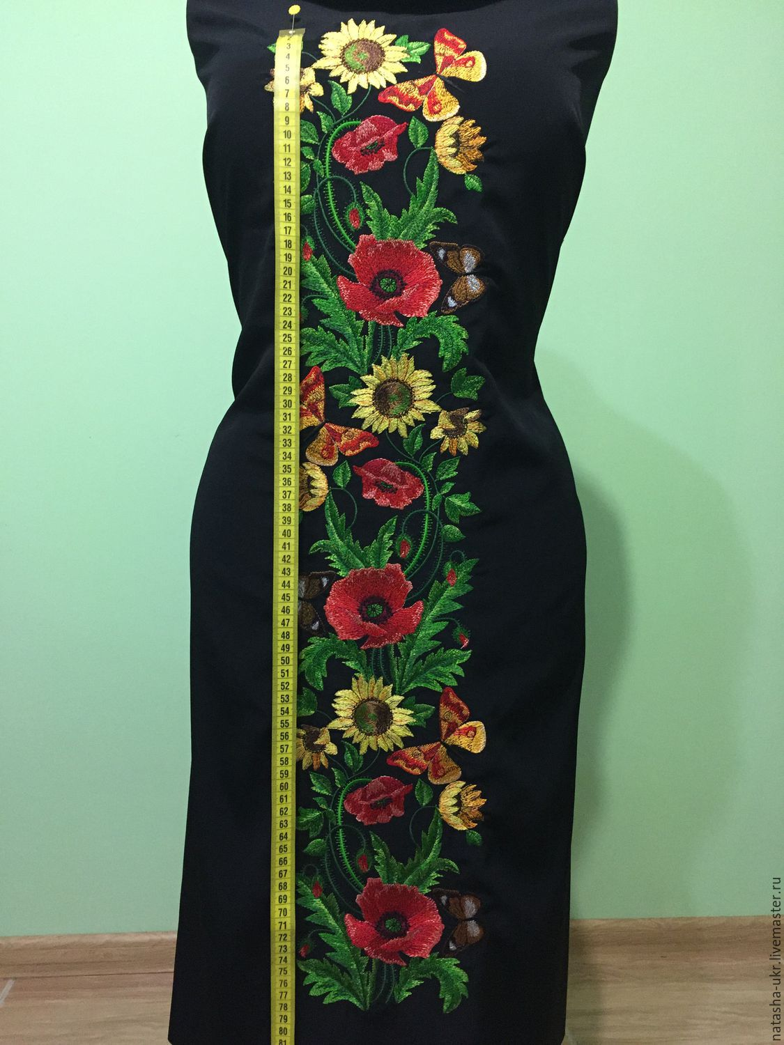 Embroidered Dress Workpiece For Tailoring Dresses Shop Online On