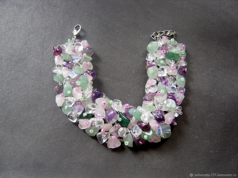 Bracelet'Summer mood', Bead bracelet, Feodosia,  Фото №1
