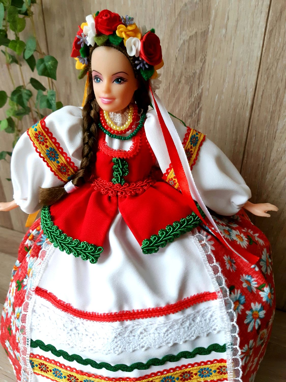 """Кукла - грелка на чайник """"Украинка  """", Народные сувениры, Зверево,  Фото №1"""