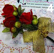 Материалы для творчества ручной работы. Ярмарка Мастеров - ручная работа Букет цветов Ручной работы. Handmade.