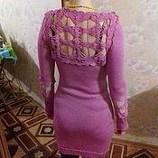 Одежда ручной работы. Ярмарка Мастеров - ручная работа вязанное платье. Handmade.