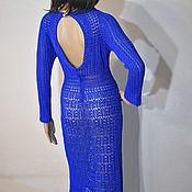 Одежда handmade. Livemaster - original item Crochet dress Visionary. Cherry red viscose women handmade dress. Handmade.