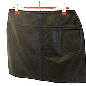 Одежда handmade. Livemaster - original item Skirt made of genuine leather.. Handmade.