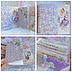 Блокноты ручной работы. Альбом первого года жизни для девочки. Алена Мацко. Ярмарка Мастеров. Альбом для девочки, подарок