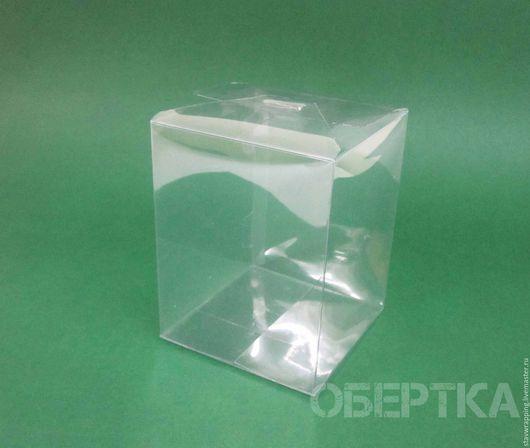 Упаковка ручной работы. Ярмарка Мастеров - ручная работа. Купить Коробка прозрачная 10х10х13 см. Handmade. Коробка, прозрачная упаковка