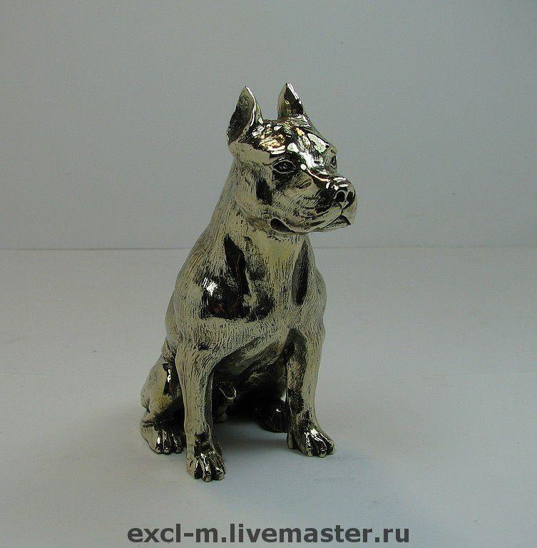 """Статуэтка """"Стаффорд"""" (а может быть, питбуль...), Мини фигурки и статуэтки, Москва,  Фото №1"""