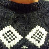 """Одежда ручной работы. Ярмарка Мастеров - ручная работа Джемпер""""Финские мотивы"""". Handmade."""