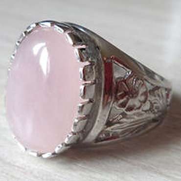 Украшения ручной работы. Ярмарка Мастеров - ручная работа Серебряное кольцо с натуральным розовым кварцем. Handmade.