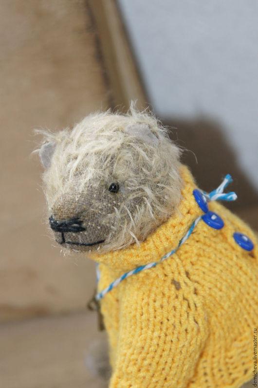 Мишки Тедди ручной работы. Ярмарка Мастеров - ручная работа. Купить Хранитель ключа. Handmade. Теддик, подарок, тедди мишка