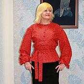 Одежда handmade. Livemaster - original item Women`s shirt