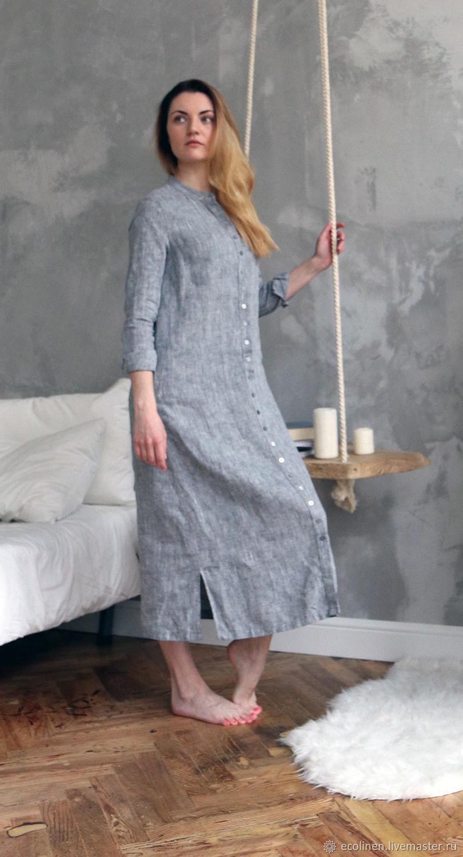 69ac0bc51c Dresses handmade. Livemaster - handmade. Buy Linen tunic. Beach tunic.