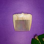 Украшения handmade. Livemaster - original item Comb-clip Nut. Handmade.
