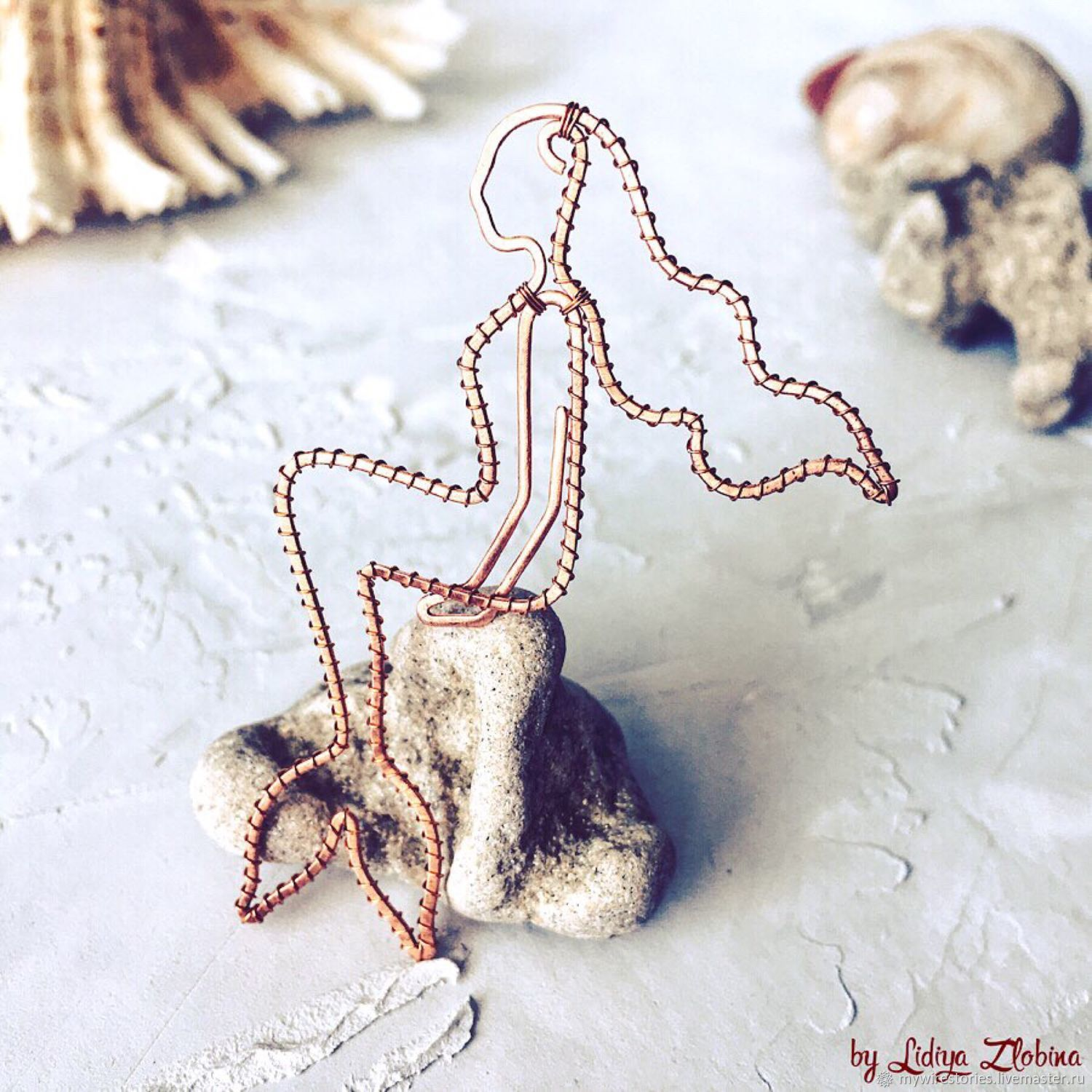 Paperclip 'little Mermaid' - Bookmark for the book-Bookmark for the diary, Bookmark, Belgorod,  Фото №1