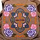 Рюкзаки ручной работы. Купить рюкзак хлопковый с вышивкой ``Нежность`. Бежевый, женский рюкзак, handmade, автор Zhanna Petrakova Atelier Moscow