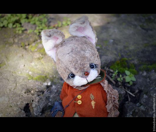 """Мишки Тедди ручной работы. Ярмарка Мастеров - ручная работа. Купить """"Сказки старого леса"""": Оливер. Handmade. Серый, чудо"""