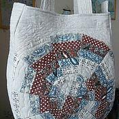 Классическая сумка ручной работы. Ярмарка Мастеров - ручная работа Стеганая лоскутная сумочка Ольгинка. Handmade.