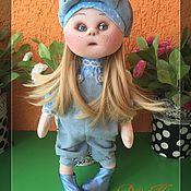 Куклы и игрушки ручной работы. Ярмарка Мастеров - ручная работа Текстильная кукла Машенька. Handmade.