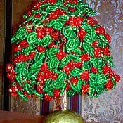 """Подарки к праздникам ручной работы. Ярмарка Мастеров - ручная работа Дерево """"Гроздья рябины"""". Handmade."""