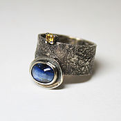 Украшения handmade. Livemaster - original item ring with kyanite. Handmade.