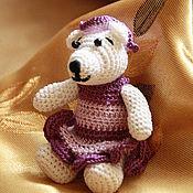Куклы и игрушки ручной работы. Ярмарка Мастеров - ручная работа белый мишка - Умкина мама. Handmade.