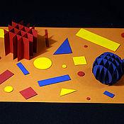 """Открытки ручной работы. Ярмарка Мастеров - ручная работа Картина """"Геометрия"""". Handmade."""