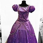 Одежда handmade. Livemaster - original item Princess Sofia. Scenic suit/Cosplay/Carnival costume. Handmade.