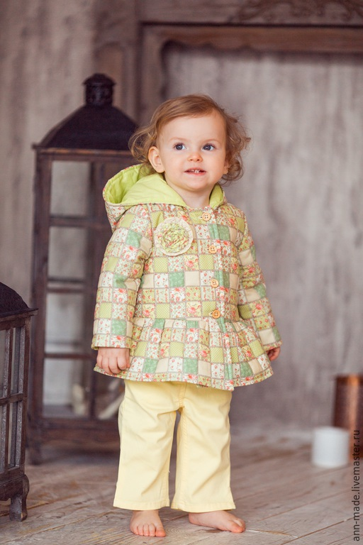 Одежда для девочек, ручной работы. Ярмарка Мастеров - ручная работа. Купить Куртка (Арт.: Д-62). Handmade. Разноцветный