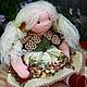 Вальдорфская игрушка ручной работы. Ярмарка Мастеров - ручная работа. Купить Вальдорфская кукла  Аннушка  (38 см). Handmade.