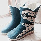 """Обувь ручной работы. Ярмарка Мастеров - ручная работа Валенки - сапожки ручной работы """" Style"""". Handmade."""