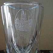 Винтаж handmade. Livemaster - original item Rare Vase, Czechoslovakia, vintage, 50-ies.. Handmade.