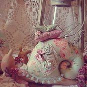 Куклы и игрушки ручной работы. Ярмарка Мастеров - ручная работа Тильда-улиточки.В стиле шебби-2. Handmade.