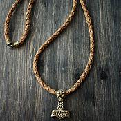 Украшения handmade. Livemaster - original item Men`s pendant ,Thor`s Hammer pendant on the neck. Handmade.
