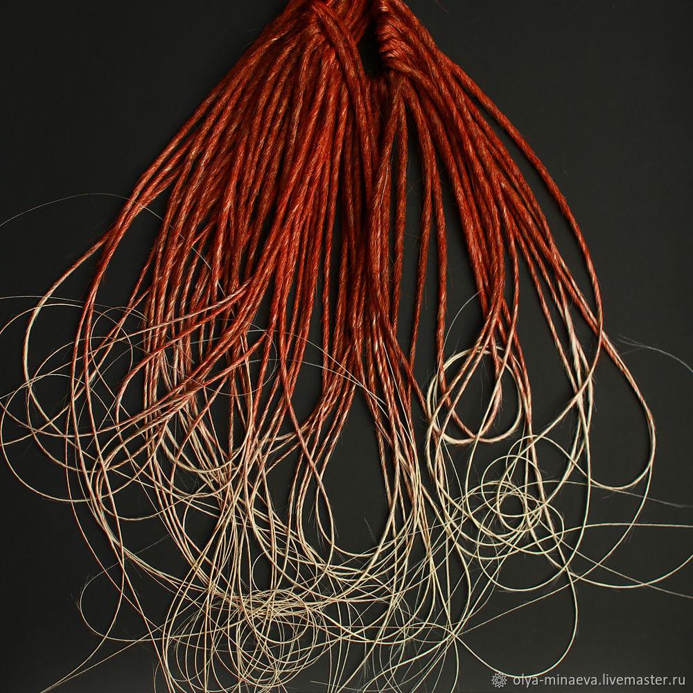 Рыжие дреды в ассортименте, Дреды, Санкт-Петербург,  Фото №1