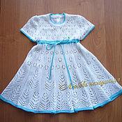 Работы для детей, ручной работы. Ярмарка Мастеров - ручная работа Платье летнее для девочки. Handmade.