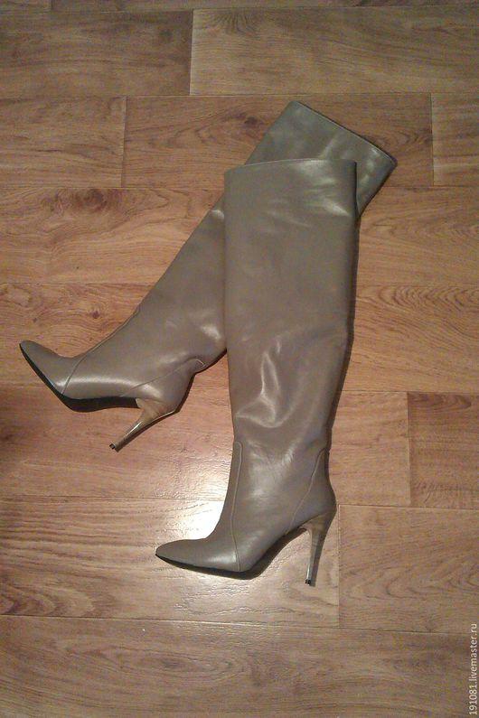 Обувь ручной работы. Ярмарка Мастеров - ручная работа. Купить ботфорты (3). Handmade. Комбинированный, красивая обувь