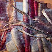 """Аксессуары ручной работы. Ярмарка Мастеров - ручная работа Шарф """"Зимняя вишня"""". Handmade."""
