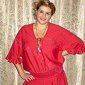"""Одежда ручной работы. Ярмарка Мастеров - ручная работа Платье """"Ягода-малина"""". Handmade."""